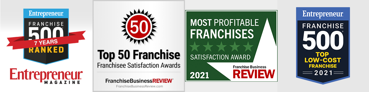 Top Ranked Franchise by Entrepreneur and Franchise Business Review